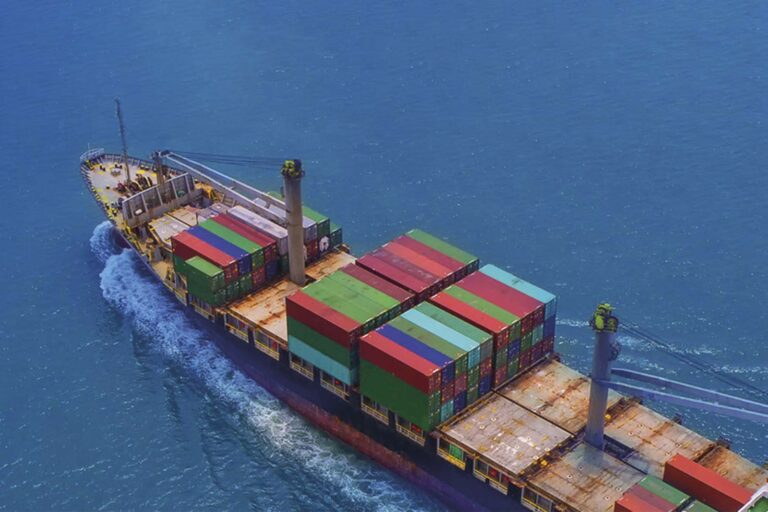 SCI container ship